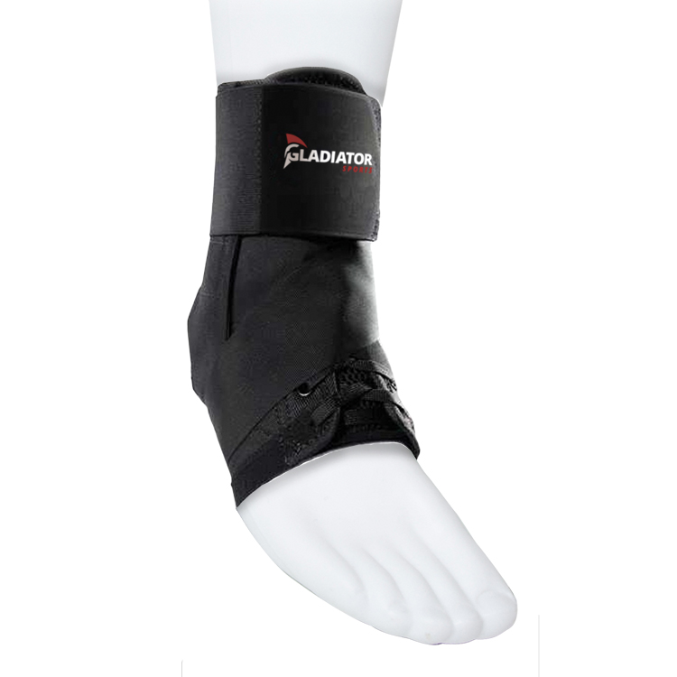Gladiator Sports Lightweight Ankle Brace With Straps